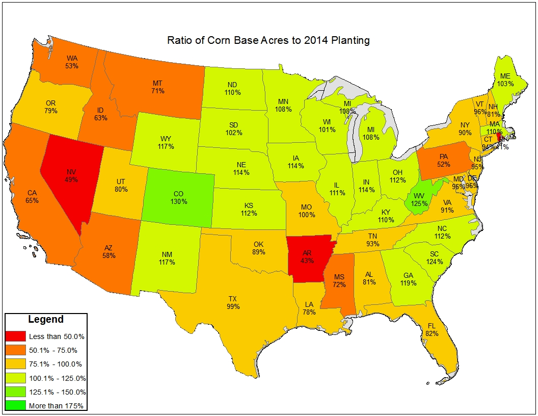 You Can Also View Separate Maps For Corn Soybeans And Wheat