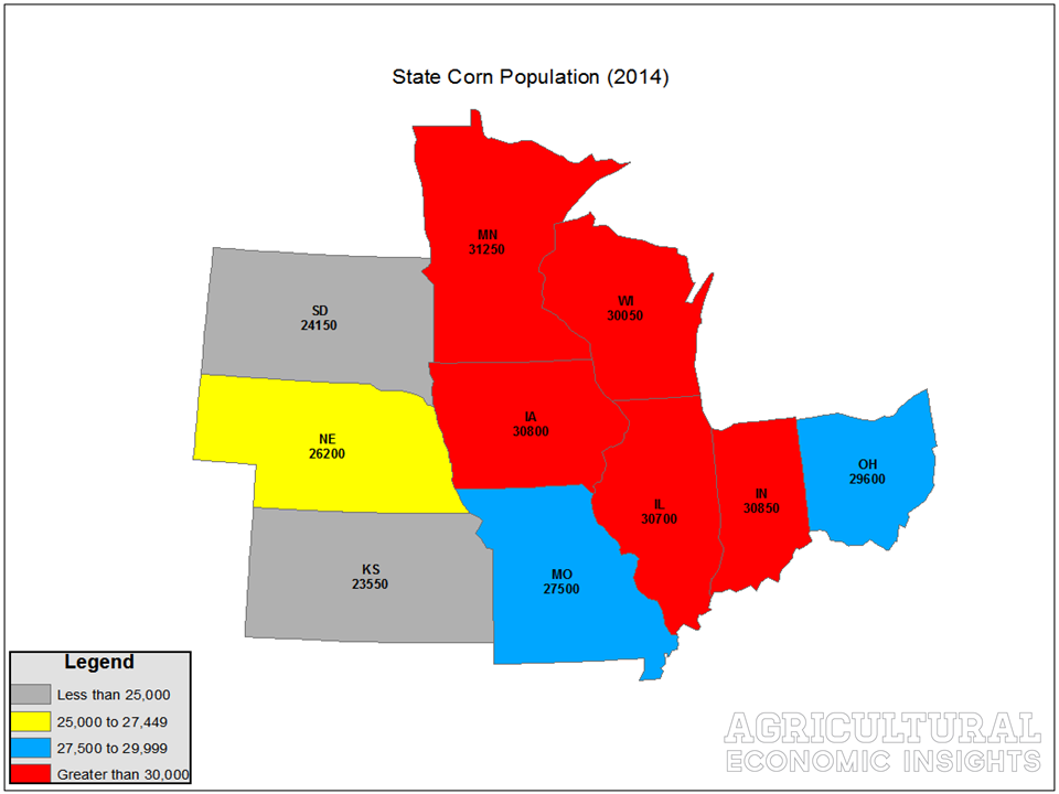 Corn Plant Population. Ag Trends. Agricultural Economic Insights. Ag Econ